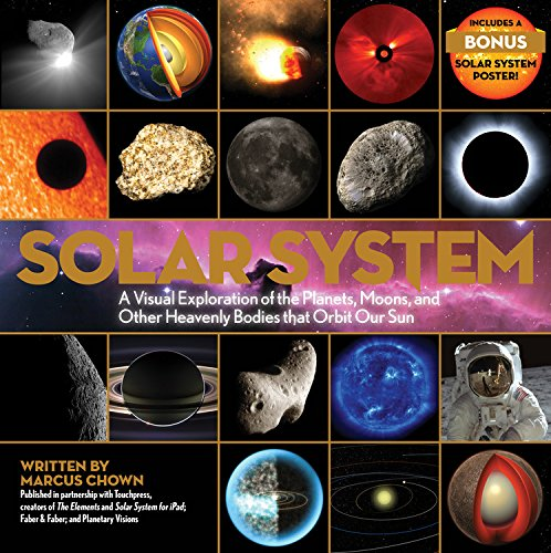 Foto do produto Solar System: A Visual Exploration of the Planets, Moons, and Other Heavenly Bodies that Orbit Our S