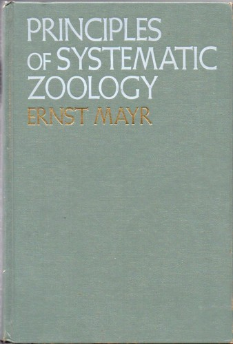Foto do produto Principles of Systematic Zoology