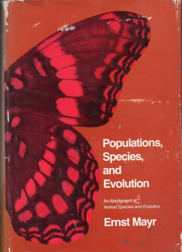 Foto do produto Populations, Species, and Evolution: An Abridgment of Animal Species and Evolution