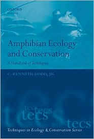 Foto do produto Amphibian Ecology and Conservation: A Handbook of Techniques (Techniques in Ecology & Conservation)