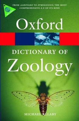 Foto do produto A Dictionary of Zoology (Oxford Paperback Reference)