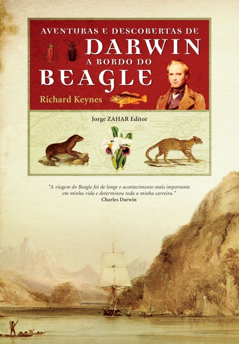 Foto do produto Aventuras e descobertas de Darwin a bordo do Beagle. 1832-1836
