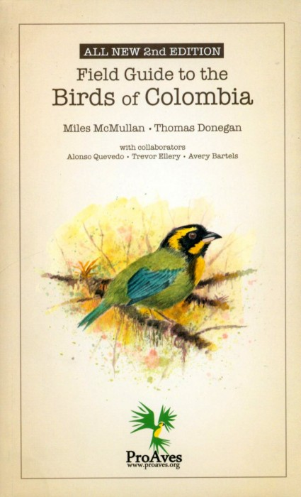 Foto do produto Field Guide to the Birds of Colombia