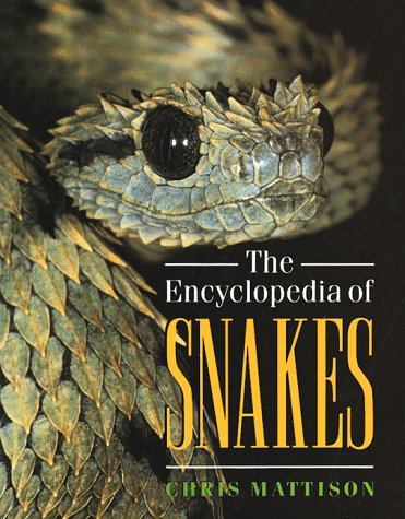Foto do produto The Encyclopedia of Snakes
