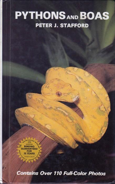 Foto do produto Pythons and Boas (Peter Stafford)