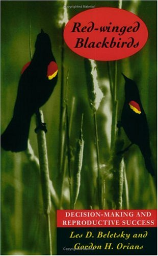 Foto do produto Red-Winged Blackbirds: Decision-Making and Reproductive Success