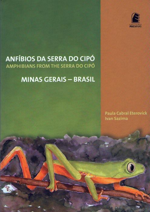 Foto do produto Anfíbios da Serra do Cipó - Minas Gerais Brasil