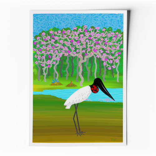 Foto do produto Pôster Lendas e Relendas das Aves do Brasil