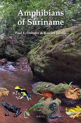 Foto do produto Amphibians of Suriname (Fauna of Suriname)