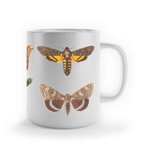 """Foto do produto Caneca """"Mariposas"""""""