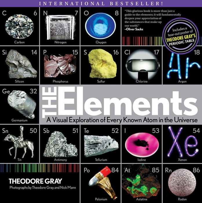 Foto do produto The Elements: A Visual Exploration of Every Known Atom in the Universe