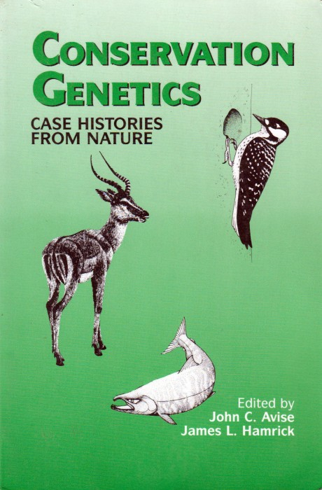 Foto do produto Conservation Genetics - Cases histories from nature