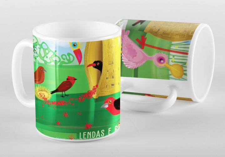 Foto do produto Caneca Lendas e Relendas - Aves