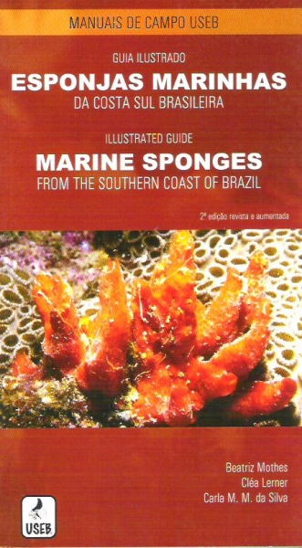Foto do produto Guia Ilustrado - Esponjas Marinhas da Costa Sul-Brasileira