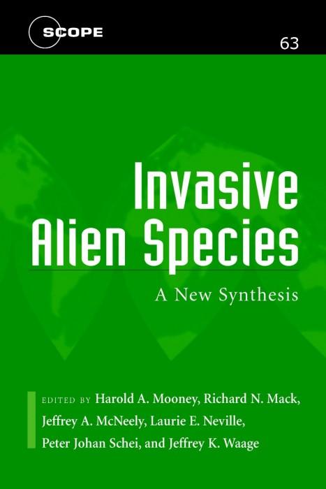 Foto do produto Invasive Alien Species: A New Synthesis