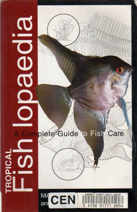 Foto do produto Tropical Fishlopaedia: A Complete Guide to Fish Care