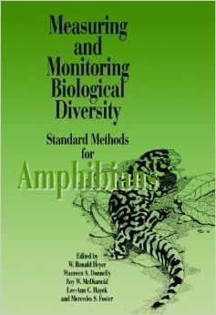 Foto do produto Measuring and Monitoring Biological Diversity. Standard Methods for Amphibians