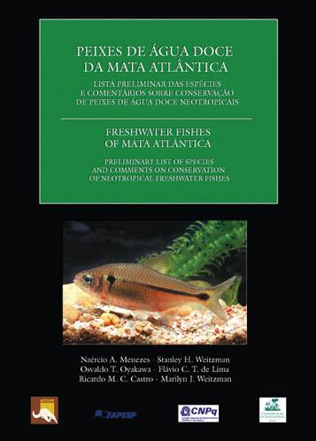 Foto do produto Peixes de Água Doce da Mata Atlântica