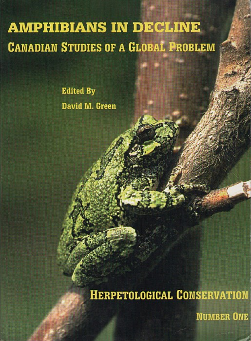 Foto do produto Amphibians in Decline: Canadian Studies of a Global Problem (Herpetological Conservation, No. 1)
