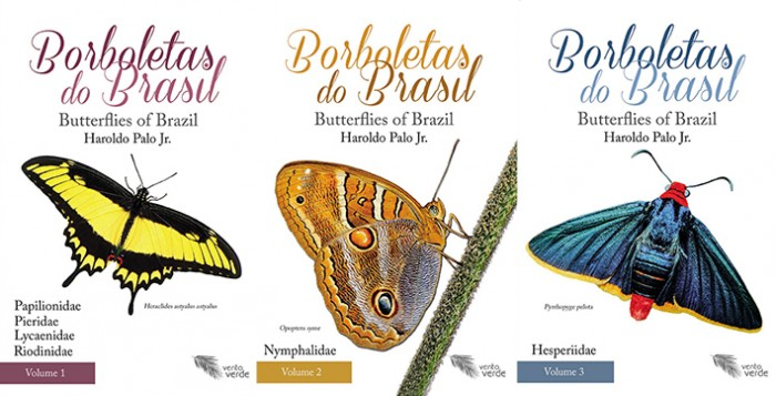 Foto do produto Borboletas do Brasil – 3 volumes