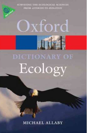 Foto do produto A Dictionary of Ecology (Oxford Paperback Reference)