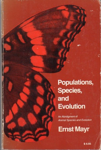 Foto do produto Populations, Species, and Evolution: An Abridgment of Animal Species and Evolution