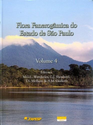 Foto do produto Flora Fanerogamica Do Estado De Sao Paulo - Volume 4
