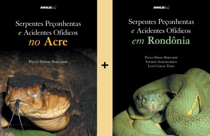 Foto do produto Serpentes Peçonhentas e Acidentes Ofídicos no Acre / Rondônia