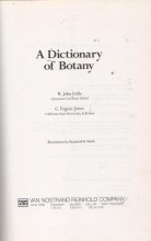 A Dictionary of Botany