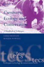 Carnivore Ecology and Conservation: A Handbook of Techniques