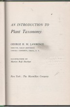 An Introduction to Plant Taxonomy