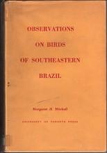 Observations on Birds of Southeastern Brazil