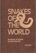 Snakes of the World : Synopsis of Snake Generic Names