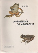 Amphibians of Argentina + 2 UPDATES (1987-2000)