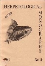 Herpetological Monographs No.5 (1991)