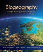 Biogeography - Biological Diversity across Space and Time Fifth Edition