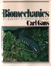 Biomechanics: An approach to vertebrate biology