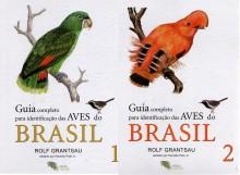 Guia Completo para Identificação das Aves do Brasil (2 Volumes)