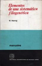 Elementos de una Sistemática Filogenética