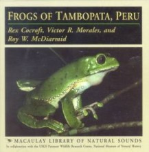 Frogs of Tambopata, Peru (CD Audio)