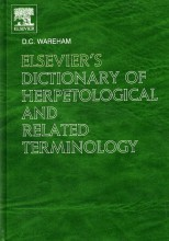 Elsevier's Dictionary of Herpetological and Related Terminology
