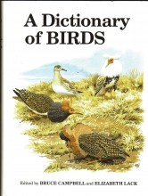 A Dictionary of Birds,  illustrated edition