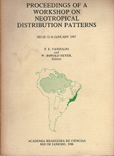 Proceedings of a Workshop on Neotropical Distribution Patterns