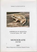 Amphibians of Argentina - A Second Update, 1987-2000