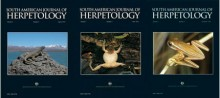 South American Journal of Herpetology VOLUME 5