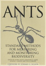 Foto do produto Ants - Standard Methods for Measuring and Monitoring Biodiversity