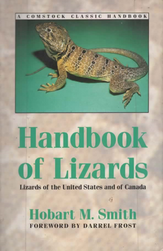 Handbook of Lizards: Lizards of the United States and of Canada