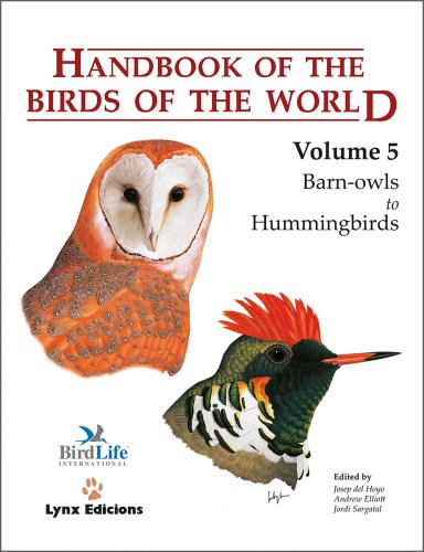 Handbook of the Birds of the World: Barn Owls to Hummingbirds: 5