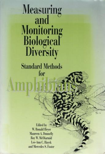 Measuring and Monitoring Biological Diversity. Standard Methods for Amphibians