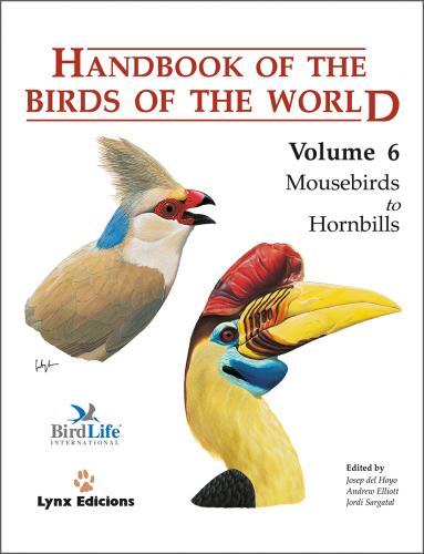 Handbook of the Birds of the World: Mousebirds to Hornbills: 6